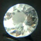 White Sapphire 18 pieces  2.25mm 1.00 Cts 13349