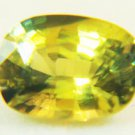 Green Sapphire 0.83 cts 13512
