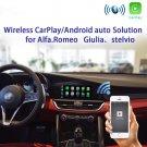 Wireless CarPlay/AndroidAuto Smart Module for Alfa Romeo Stelvio & Giulia 16-19 Models