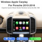 Wireless Apple Carplay For Porsche Cayenne 958 Panamera 911 Bosxter Macan PCM3.1 2010 - 2016