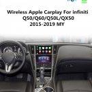 Wireless CarPlay for Infiniti Q50 QX50 Q60 Q50L QX60 Q70 2015-2019 Android Auto Module