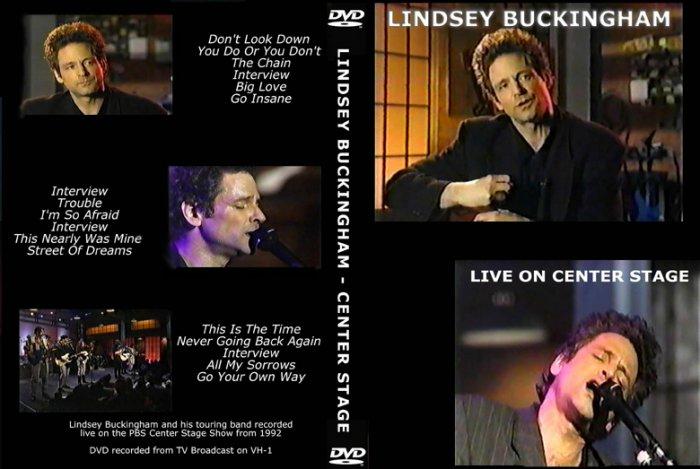 Lindsey Buckingham of Fleetwood Mac Centerstage 1992