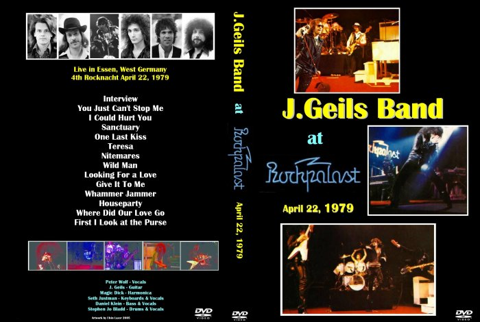 J. Geils Band 1979 Live DVD