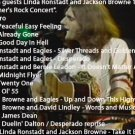 The Eagles With Jackson Browne and Linda Ronstadt 1974 DVD