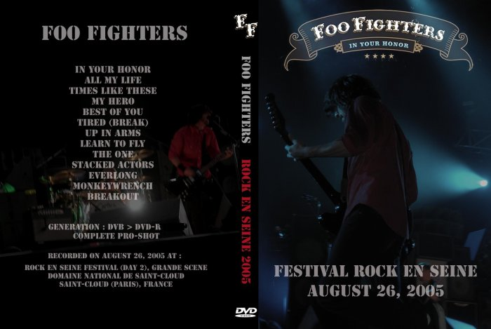 Foo Fighters Live 2005 DVD