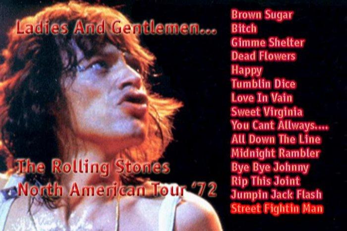 Rolling Stones 1972 Live DVD