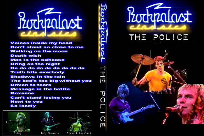 The Police Live DVD 1980