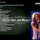 Auf Der Maur Live DVD 2004