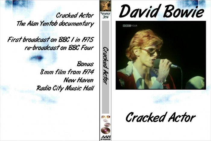 David Bowie Cracked Actor