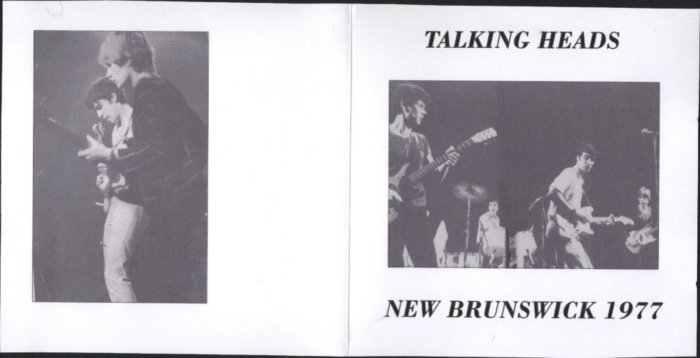 Talking Heads Rose Room, Student Center Rutgers University 11/77
