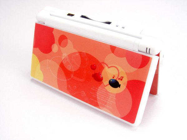 Nintendo DS Lite VINYL SKIN red fish NDSL 23