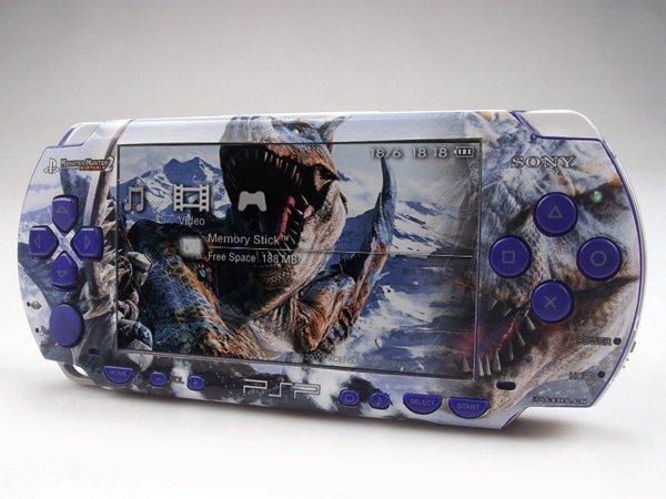 VINYL SKIN for Sony regular PSP Monster Hunter 2Sets 02