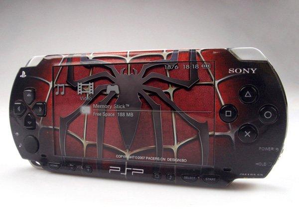 VINYL SKIN for Sony regular PSP Spiderman 2Sets 06
