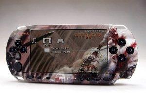 VINYL SKIN for Sony regular PSP God of War 2Sets 10