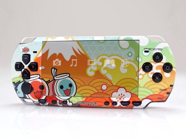 VINYL SKIN for Sony new PSP 2000 Taiko Drum Master 03