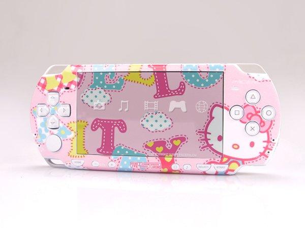 VINYL SKIN for Sony new PSP 2000 Hello Kitty 06