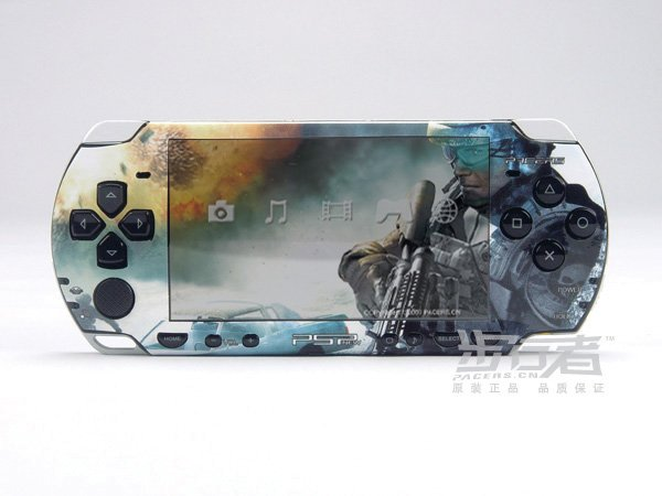 VINYL SKIN for Sony new PSP 2000 Call of Duty 13