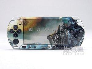 VINYL SKIN for Sony new PSP 2000 Call of Duty 13