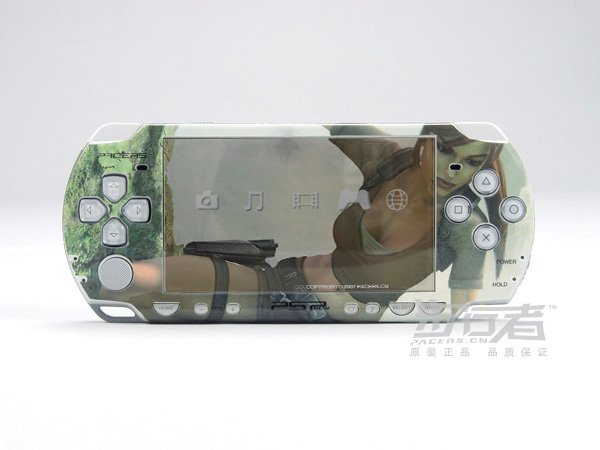 VINYL SKIN for Sony new PSP 2000 Tomb Raider 15
