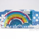 VINYL SKIN for Sony new PSP 2000 Rainbow Blue Theme 18