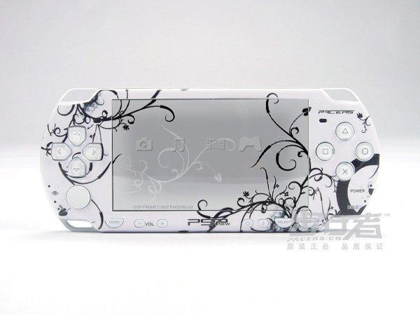VINYL SKIN for Sony new PSP 2000 White Theme 20
