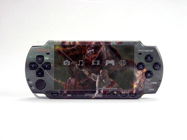 VINYL SKIN for Sony new PSP 2000 God of War 29