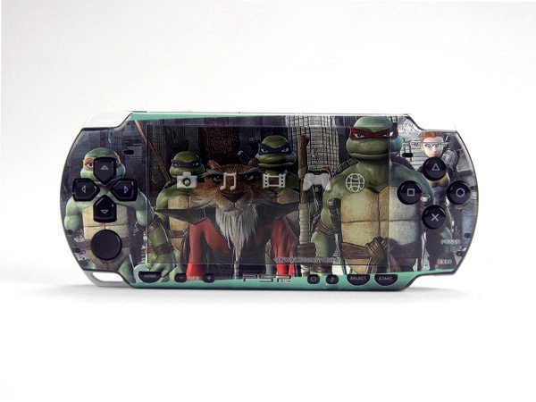 VINYL SKIN for Sony new PSP 2000 Teenage Mutant Ninja Turtles TMNT 35