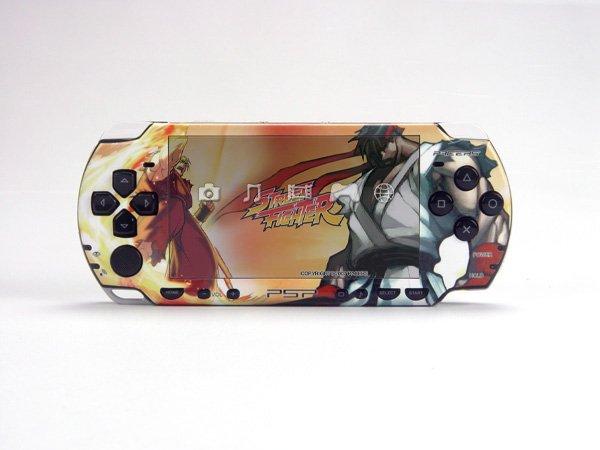 VINYL SKIN for Sony new PSP 2000 Street Fighter 48