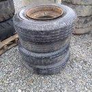 (4) 8-14.5 Trailer Tires