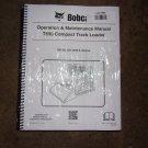Bobcat T650 Operation & Maintenance Manual