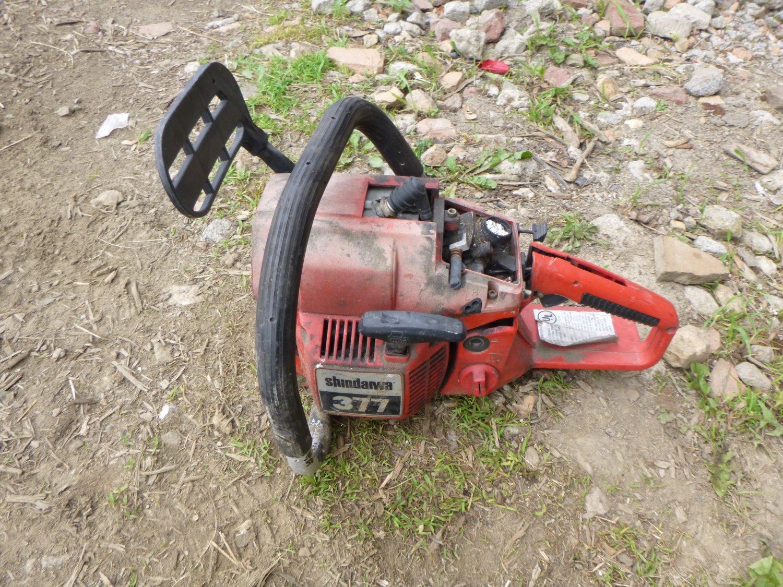 Shindaiwa 377 Chainsaw