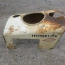 Antique HOMELITE Yard Trac Hood