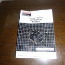 Honda EU2000i Generator Owner's Manual