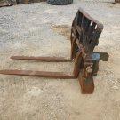 Gradall Rotating Pallet Forks