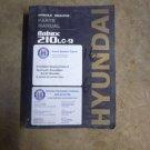 Hyundai Robex 210LC-9 Part Manual
