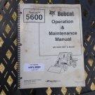 Bobcat 5600 Toolcat Operator & Maintenance Manual