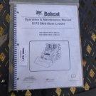 Bobcat S175 Operator & Maintenance Manual