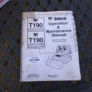Bobcat T190 Operator & Maintenance Manual