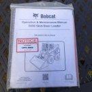 Bobcat S590 Operator & Maintenance Manual