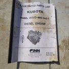 Kubota V1505-BBS-SAE-1 Engine Parts Manual