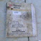 JCB Series 3 Backhoe Loaders Operators Manual