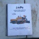 Leeboy 8816B Paver Operation & Service Manual
