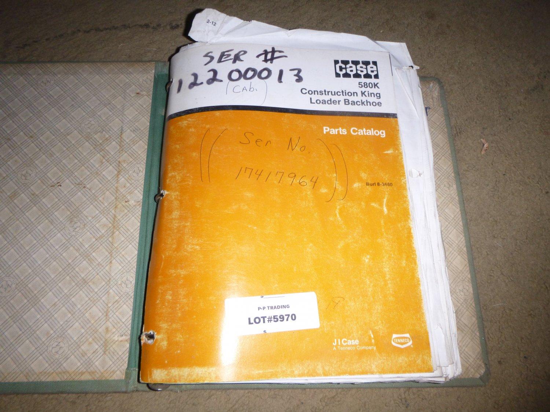 Case 580K Parts Manual