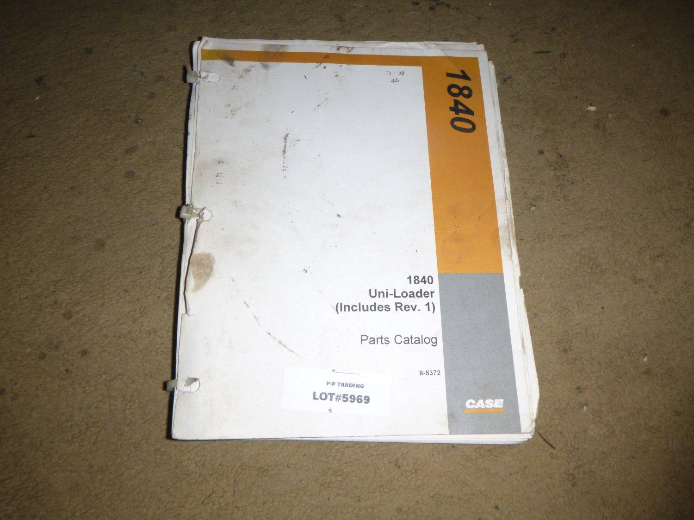 Case 1840 Uni-Loader Parts Manual