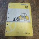 Volvo L20B, L25B Wheel Loader Operators Manual