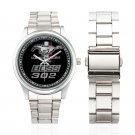 New Ford Mustang Boss 302 1968 Badge Watch Unisex Watches Women Men's Stainless Steel Watches