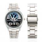 New VW Golf GTD Symbol Watch Unisex Watches Women Men's Stainless Steel Watches