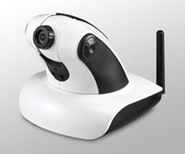 High Speed 2.4GHz (802.11g) Wireless Internet Camera (Pan &Tilt) - GS9711G