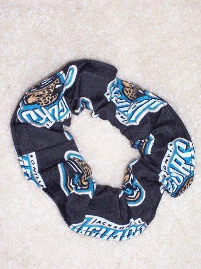 Jacksonville Jaguars Football Fabric Hair Scrunchie Scrunchies NFL