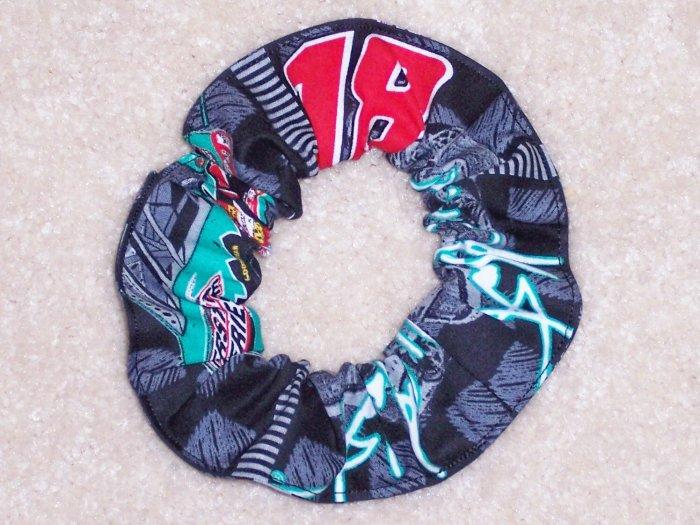 Bobby LaBonte Racing Fabric Hair Scrunchie Scrunchies by Sherry NASCAR